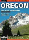 Oregon Topo-Travel-Reference Map: Travel Guide (American Landscapes #2) Cover Image