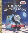 Thomas on the Moon (Thomas & Friends) (Little Golden Book) Cover Image