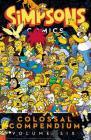 Simpsons Comics Colossal Compendium Volume 6 Cover Image