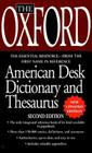 The Oxford American Desk Dictionary Andthesaurus, Second Edition Cover Image