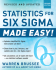 Statistics for Six SIGMA Made Easy! Revised and Expanded Second Edition Cover Image