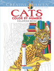 Creative Haven Cats Color by Number Coloring Book (Adult Coloring) Cover Image