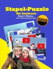 Stapel-Puzzle für Senioren: Thema: Winter - Eine schneebedeckte Welt Cover Image
