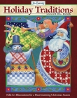 Jim Shore Holiday Traditions Coloring Book: Folk-Art Illustrations for a Heartwarming Christmas Season Cover Image