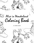 Alice in Wonderland Coloring Book for Young Adults and Teens (8x10 Coloring Book / Activity Book) Cover Image