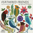 Feathered Friends 2021 Wall Calendar: Watercolor Bird Illustrations Cover Image