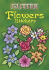 Glitter Flowers Stickers Cover Image
