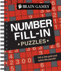 Brain Games - Number Fill-In Puzzles Cover Image