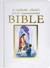 Catholic Child's Traditions First Communion Gift Bible-Nab-Boy Cover Image