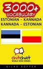 3000+ Estonian - Kannada Kannada - Estonian Vocabulary Cover Image