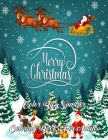 Merry Christmas Color By Number Coloring Books For Adults: Color By Number Adult Coloring Book of Christmas with Winter Bird Scenes, Festive Holiday C Cover Image