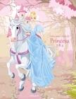 Livro para Colorir de Princesa 3 & 4 Cover Image