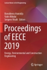 Proceedings of Eece 2019: Energy, Environmental and Construction Engineering (Lecture Notes in Civil Engineering #70) Cover Image