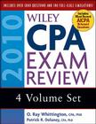 Wiley CPA Exam Review 2010, 4-volume Set Cover Image