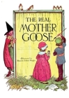 The Real Mother Goose: Nursery Rhymes Moother Mothergoose Tales Book Cover Image