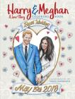 Harry and Meghan: A Love Story Coloring Book Cover Image
