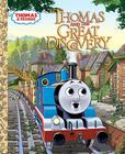 Thomas and the Great Discovery (Thomas & Friends) (Little Golden Book) Cover Image
