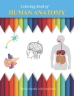 Human Anatomy Coloring Book: Scientific coloring book for all ages Cover Image