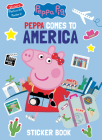 Peppa Comes to America Sticker Book (Peppa Pig) Cover Image