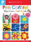 Pen Control: Scholastic Early Learners (Wipe-Clean Workbook) Cover Image