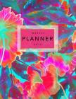 Weekly Planner 2019: Tropical Flowers - 8.5 X 11 in - 2019 Organizer with Bonus Dotted Grid Pages + Inspirational Quotes + To-Do Lists - Pi Cover Image