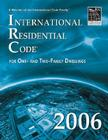 International Residential Code: For One- And Two-Family Dwellings Cover Image