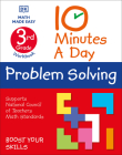 10 Minute a Day Problem Solving, 3rd Grade (10 Minutes a Day) Cover Image