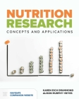 Nutrition Research: Concepts & Applications: Concepts & Applications Cover Image