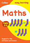 Maths Ages: Ages 4-5 (Collins Easy Learning Preschool) Cover Image