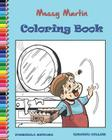 Messy Martin Coloring Book Cover Image