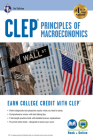 CLEP Principles of Macroeconomics 3rd Ed., Book + Online (CLEP Test Preparation) Cover Image