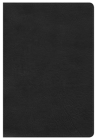 KJV Large Print Personal Size Reference Bible, Black LeatherTouch, Indexed Cover Image