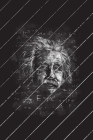 Albert Einstein Chalkboard Art Final Planning Book Cover Image