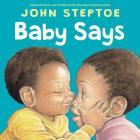 Baby Says Board Book Cover Image