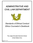 Standards of Ethical Conduct Ethics Counselor's Deskbook Cover Image