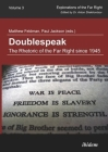 Doublespeak: The Rhetoric of the Far Right Since 1945 (Explorations of the Far Right #3) Cover Image