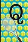 Q: Tennis Monogram Initial Notebook for boys Letter Q - 6