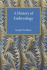 A History of Embryology Cover Image