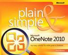 Microsoft OneNote 2010 Plain & Simple Cover Image