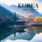 Korea Calendar 2021: 16 Month Calendar Cover Image