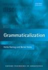 Grammaticalization (Oxford Textbooks in Linguistics) Cover Image