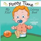 My First Potty Time Coloring Book Cover Image