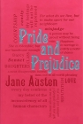 Pride and Prejudice (Word Cloud Classics) Cover Image