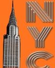 New York City Chrysler Building $ir Michael designer creative drawing journal Cover Image