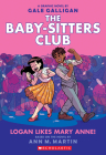 Logan Likes Mary Anne! (Baby-Sitters Club Graphic Novel #8) (The Baby-Sitters Club Graphic Novels #8) Cover Image