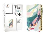 The Jesus Bible Artist Edition, Niv, Leathersoft, Multi-Color/Teal, Thumb Indexed, Comfort Print Cover Image