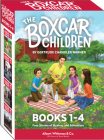 The Boxcar Children Mysteries Boxed Set #1-4 Cover Image