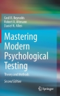 Mastering Modern Psychological Testing: Theory and Methods Cover Image