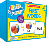 First Learning Puzzles: First Words Cover Image