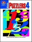 Math Puzzlers Grade 4 Cover Image